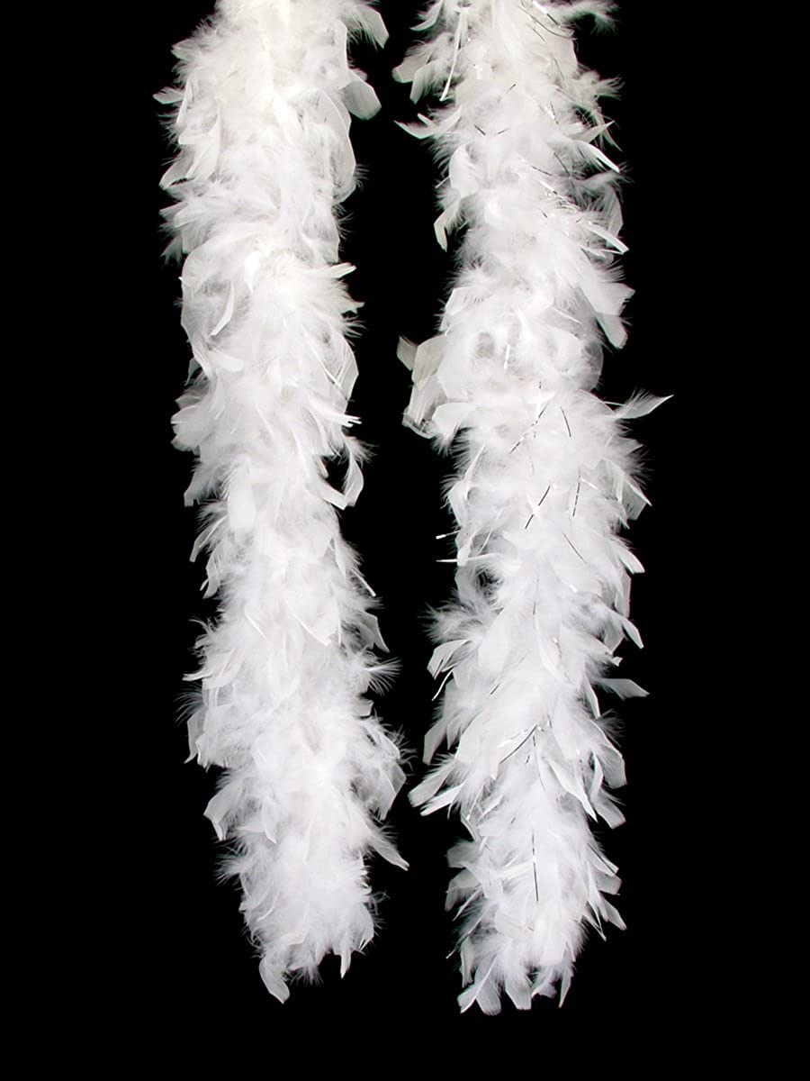 Feather Boa Extra Long 72 Fluffy 60 gram for Costumes