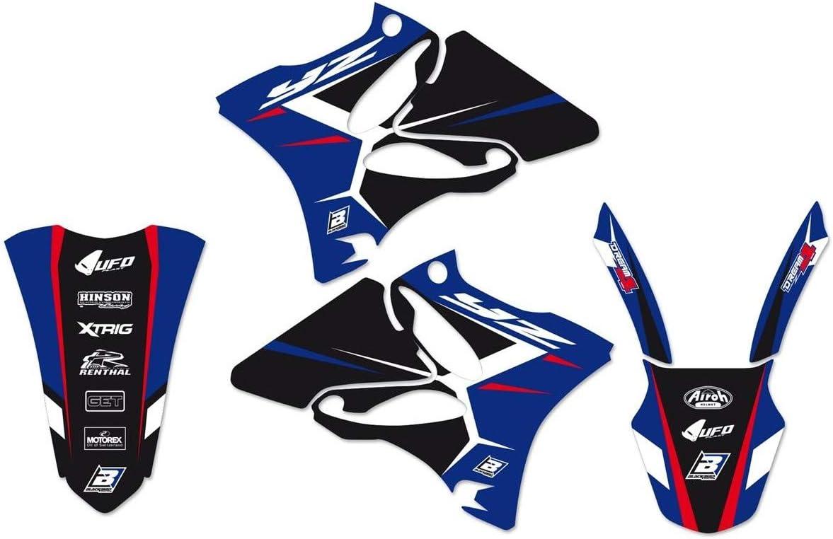 Compatible avec//Remplacement pour YZ 125 KIT D/ÉCO BLACKBIRD DREAM GRAPHIC 4-2231N YZ 250-02//14