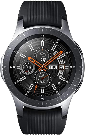 Samsung Galaxy Watch SM-R800, Reloj inteligente con SAMOLED GPS, Pantalla táctil, Plata, 46 mm: Amazon.es: Electrónica