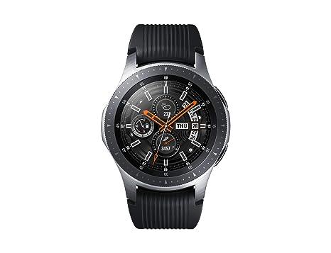 Samsung Galaxy Watch SM-R800, Reloj inteligente con SAMOLED GPS, Pantalla táctil, Plata, 46 mm