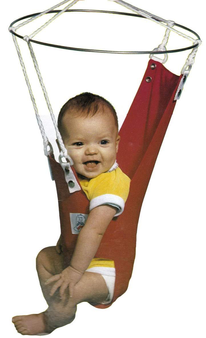 B00JLHWDO4 Merry Muscles Ergonomic Jumper Exerciser Baby Bouncer -Blue 61qbHWRhwPL._SL1181_
