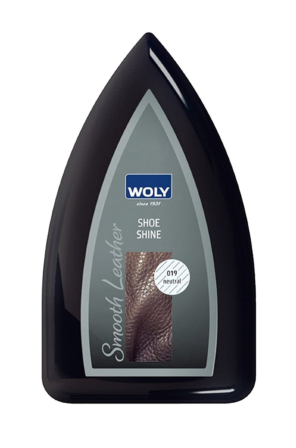 Woly Neutral Travel Shoe Shine Sponge.Glossy Shine for Designer Shoes. Made in Germany. Small size for traveling.