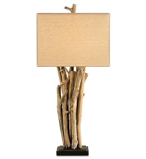 Amazon.com: Currey and Company 6344 Driftwood lámpara de ...
