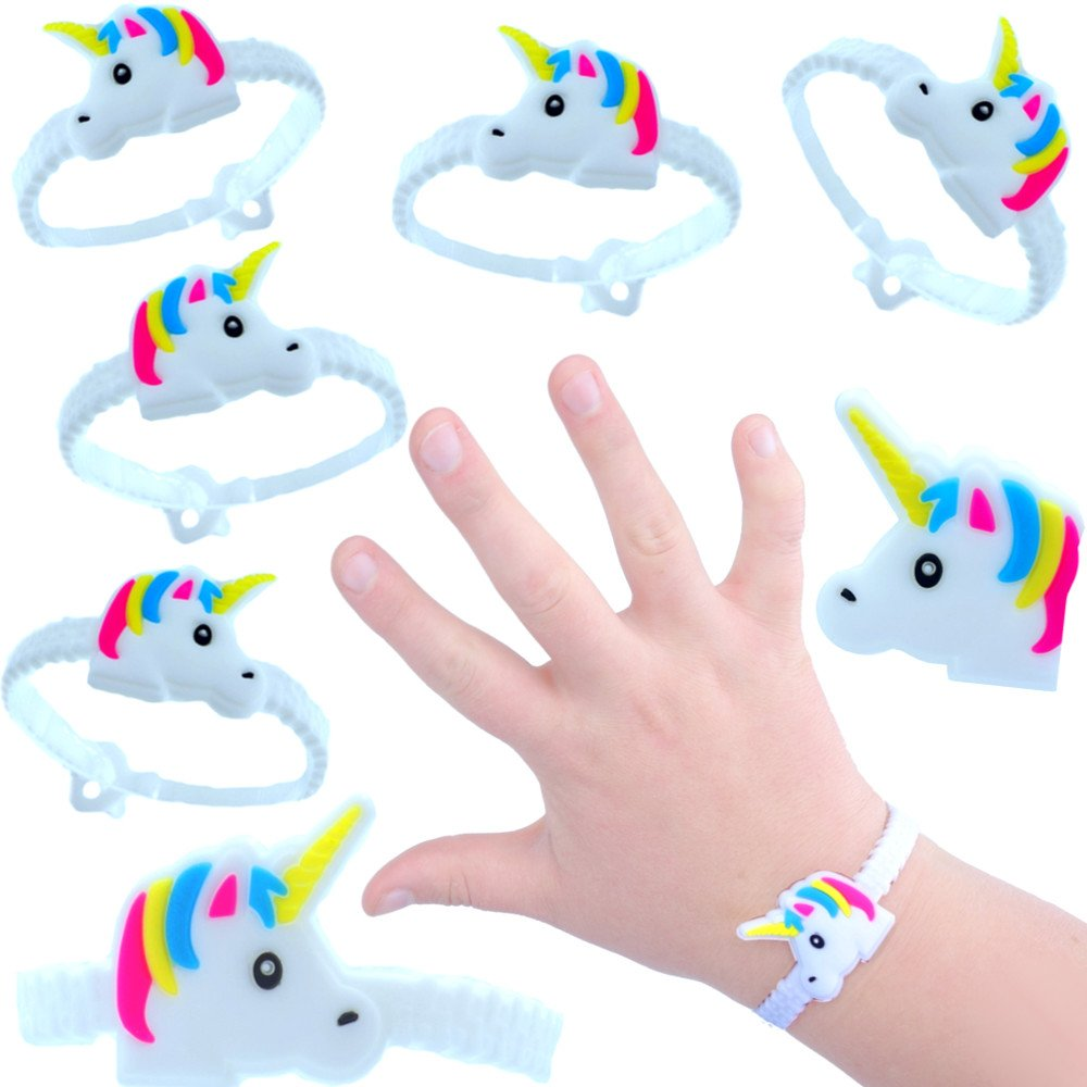 German Trendseller® 6 x pulsera unicornio ┃fiestas ...