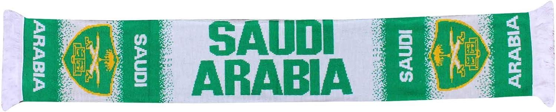 Sciarpa per Tifosi dellArabia Saudita 100/% Acrilico