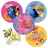 Disney Finding Nemo Wavy Days Stickers - Party Favors - 75 per Pack by SmileMakers