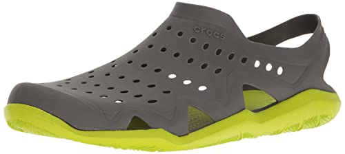 249d0b286 crocs Swiftwater Wave Men Shoe in Grey  Buy Online at Low Prices in India -  Amazon.in