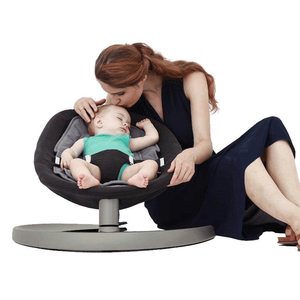 Baby Bouncer, KAKIBLIN Baby Rocker Newborn Swing Seat Comfort Infant Chair for Toddler Ages 0-5 YYY311BK-US