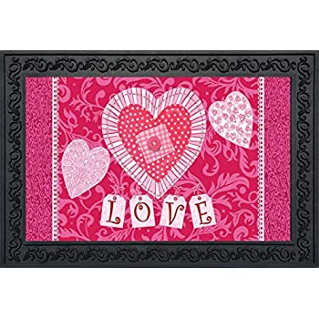 I Love You Valentines Day Doormat Indoor