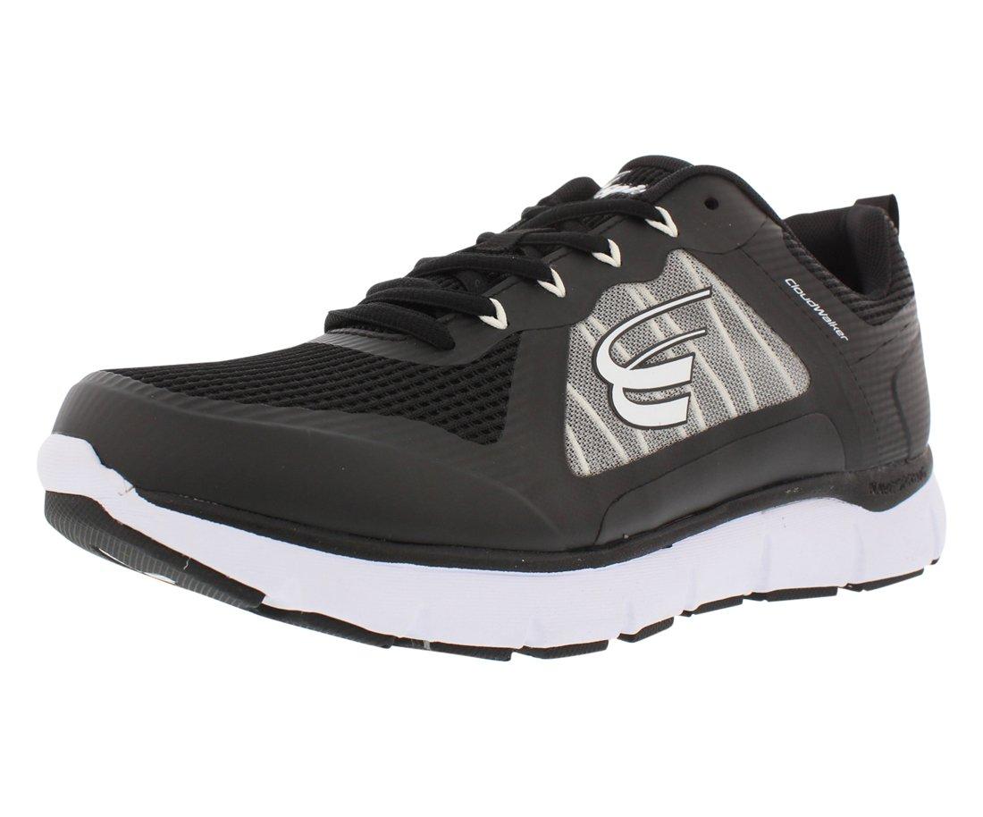 Spira Cloudwalker Walking Wide Men's Shoes 15 6E US Black / White