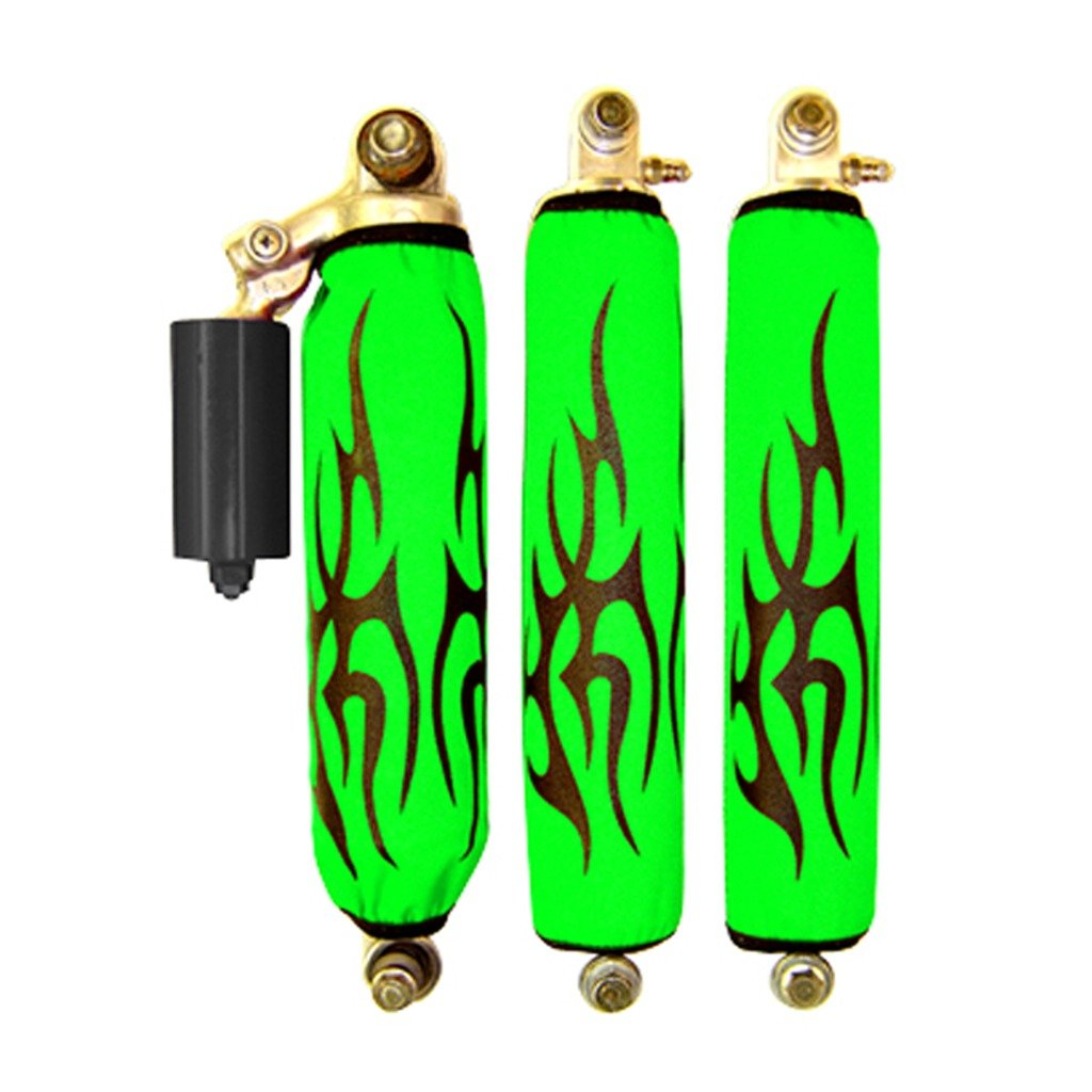 Articat dvx 400 Black Tribal Green Shock Cover