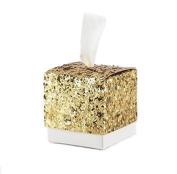 Amazon.com: Ctystallove - 30 cajas de regalo de papel para ...