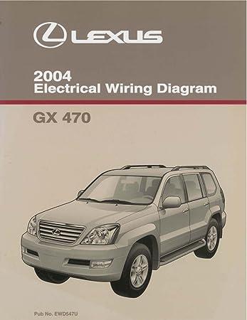 amazon com: bishko automotive literature 2004 lexus gx 470 wiring diagrams  schematics layout factory oem: automotive