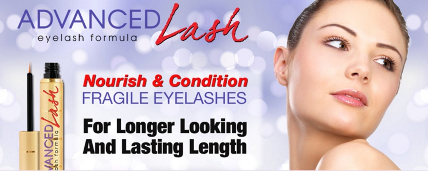 ADVANCEDLash Eyelash & Eyebrow Growth Serum – For Longer, Fuller Eyelashes & Thicker Eyebrows - Prostaglandin Helps Stimulate Eyelash Growth