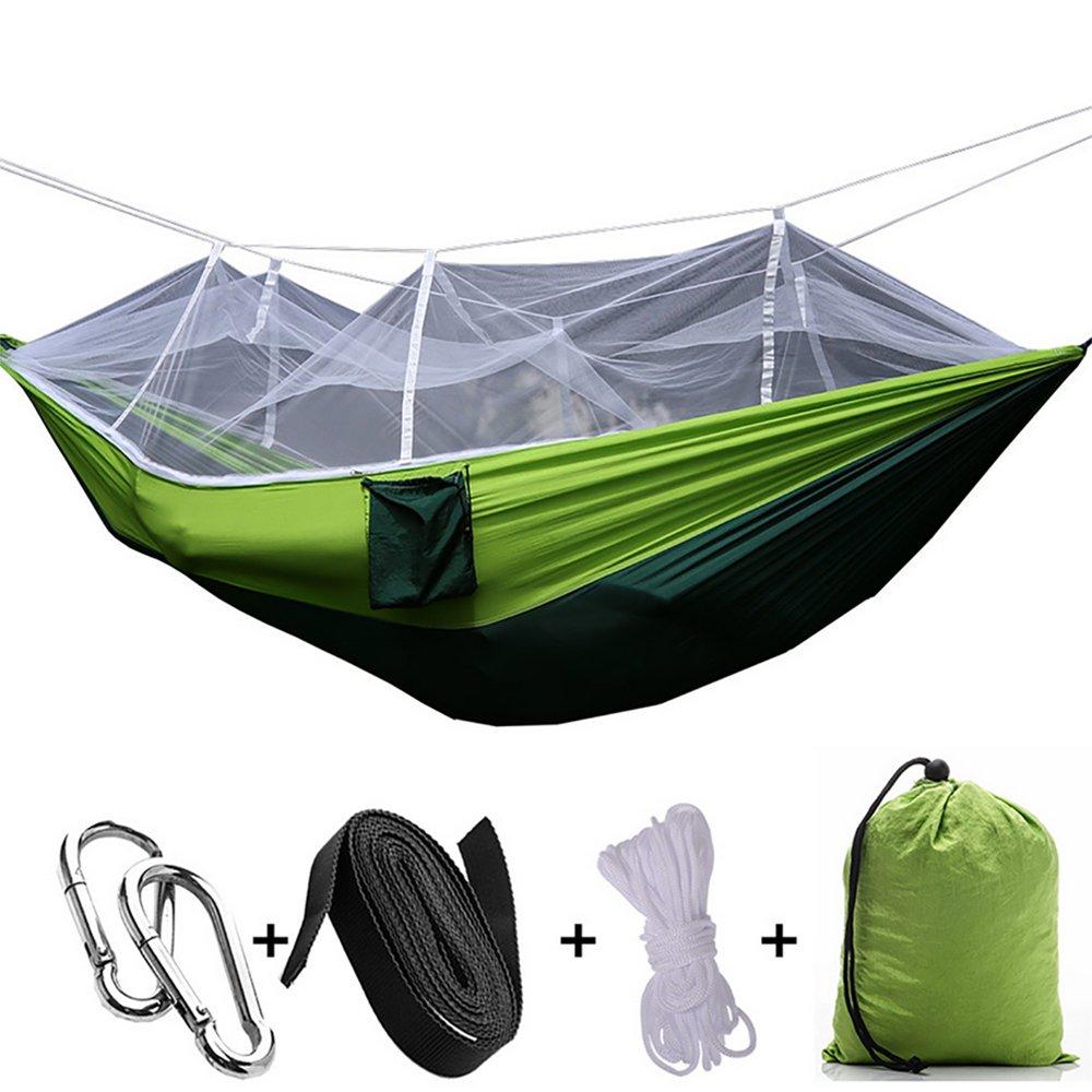 ホームCalダブルキャンピングHammocks with Mosquito Net forアウトドア旅行キャンプハイキングバックパッキング裏庭 B073PY4JK6