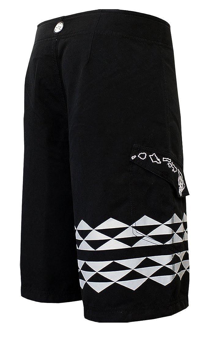 c9f43db2b73 HIC Koa Peached Microsuede Boardshorts in Charcoal - 28 | Amazon.com