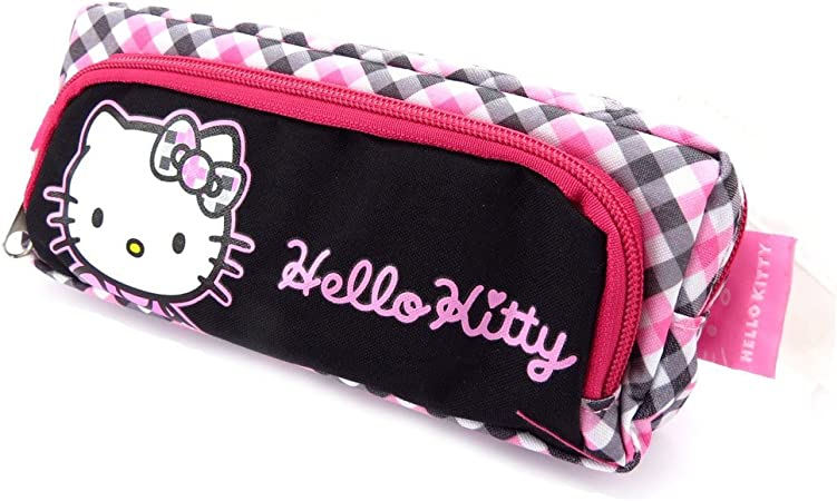 Kit french touch Hello Kitty negro gris rosa.: Amazon.es: Equipaje