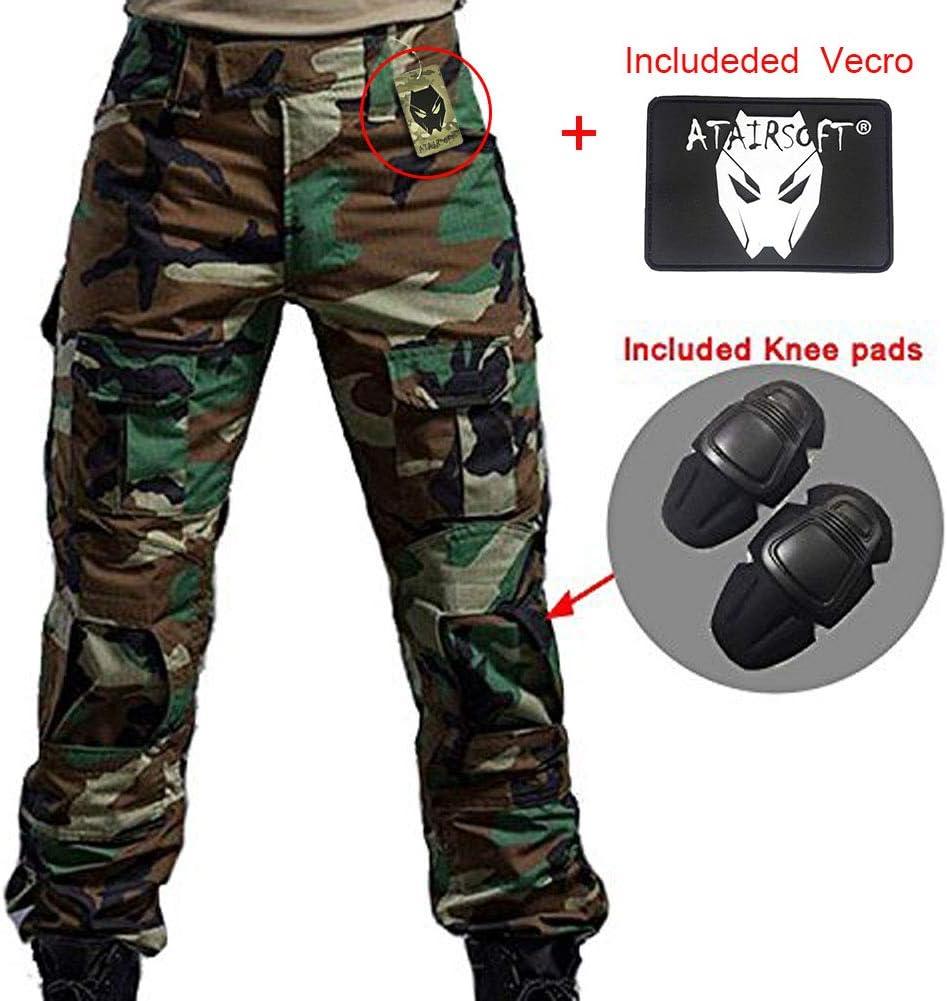 Woodland Camo Military BDU Combat Trousers