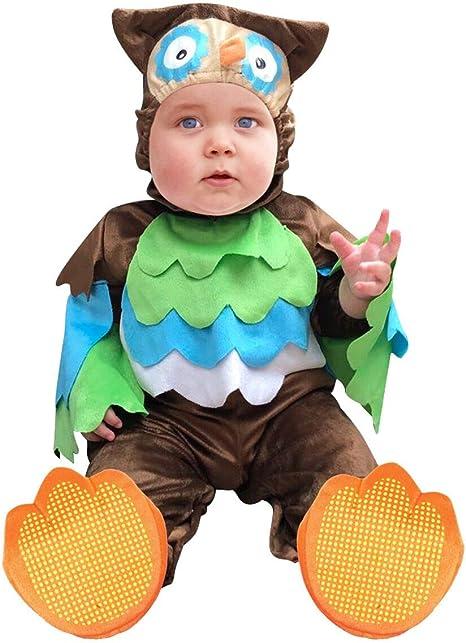 Disfraz Búho Niño,Bebé Disfraces Halloween Carnaval Traje Animales ...