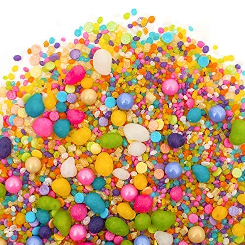 Flavored Candy Sprinkles | UNICORN 8oz | Made From Candy! | Gluten Free. Nut Free. Dairy Free. | Strawberry. Lemonade. Blue Raspberry. Key Lime. Wild Berry. Vanilla.