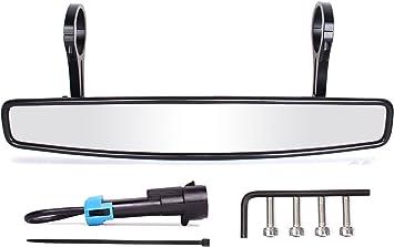 "John Deere Gator HPX UTV Rear View Center Mirror 17/"" x 3/"" HD 1.75/"" Rings NEW"