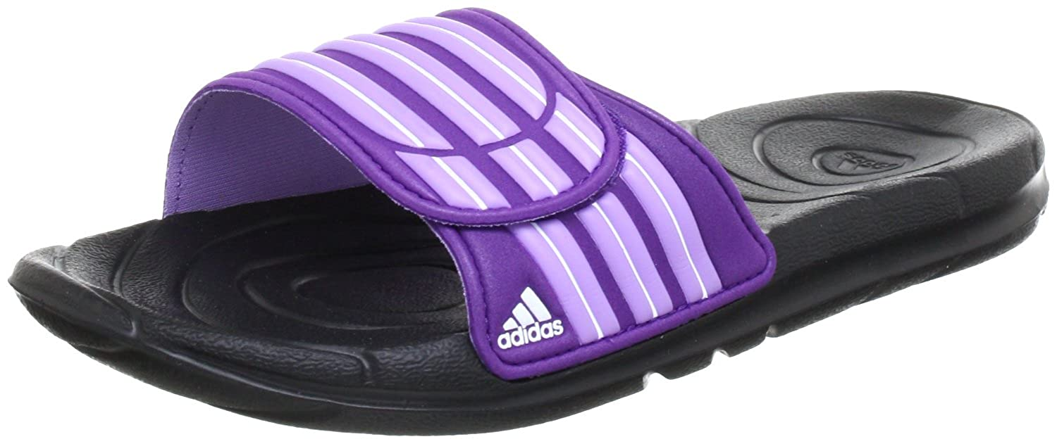 adidas Taedia Vario W G46719 Damen Sandalen, Mehrfarbig (Black 1/Power Purple S12/Super Purple S12), EU 36 2/3 (UK 4)
