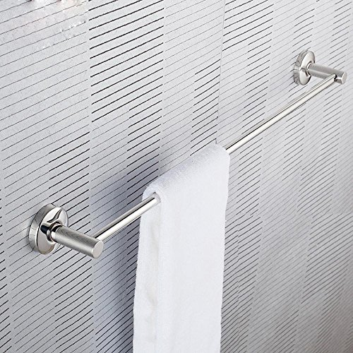 new KHSKX Bathrooms from drilling, single layer stainless steel towel bar, bathroom accessories , 60cm punch