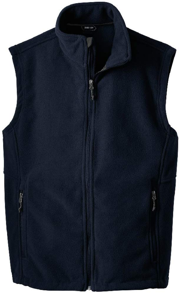 Joe's USA Men's Soft and Cozy Fleece Vest-XL-Navy by Joe's USA