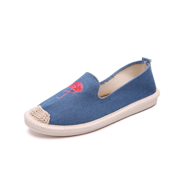 bluee retpoy 2017 Summer Women Flat Sandals shoes Women Woven shoes Flat shoes flip Flops Women Leisure Sandals