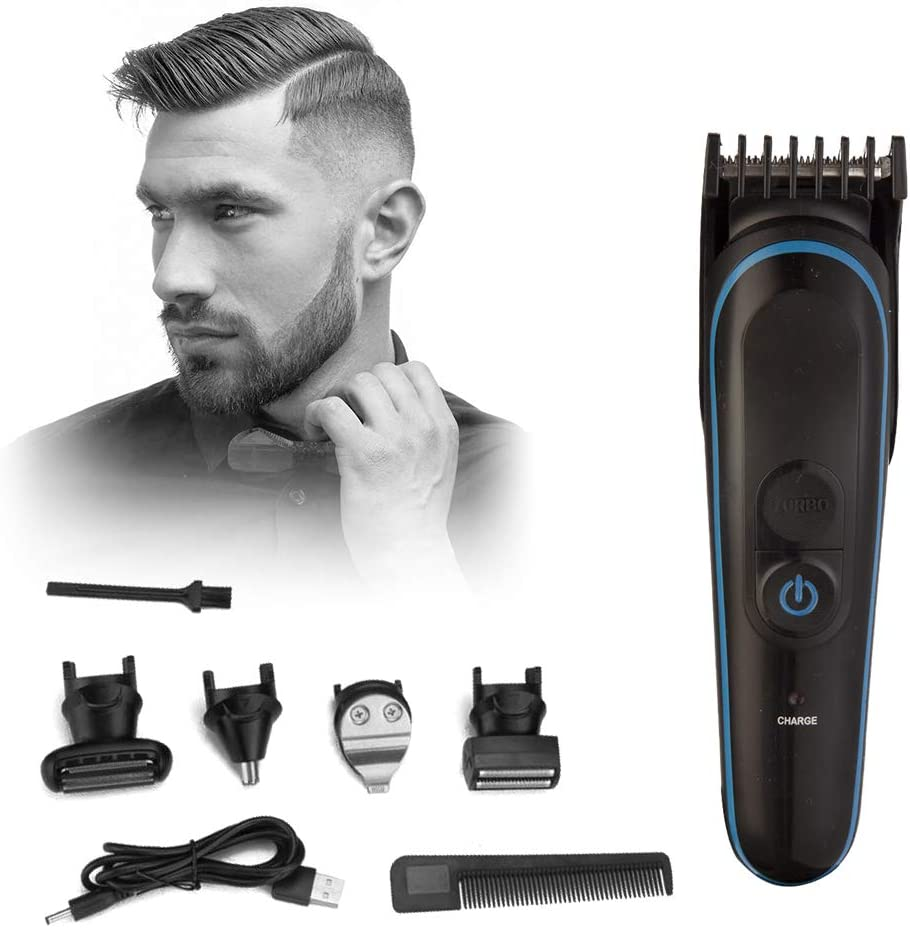 Hukoer Hair Clippers 5 In 1 Cordless Multifunctional Lectric Haircut Kit For Men Detail Nose Ear Beard Body Trimmer Family Use Amazon Co Uk Health Personal Care