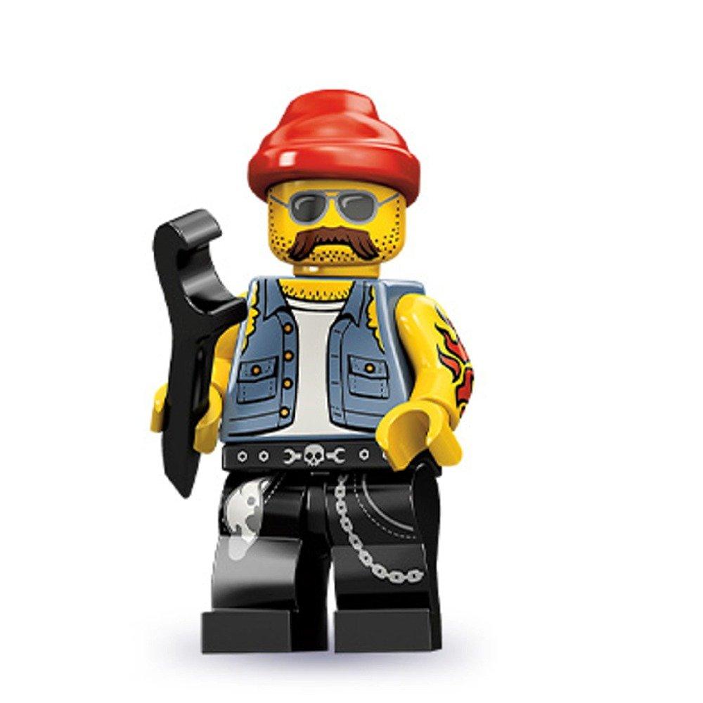 amazoncom lego series 10 motorcycle mechanic mini figure toys games. Resume Example. Resume CV Cover Letter