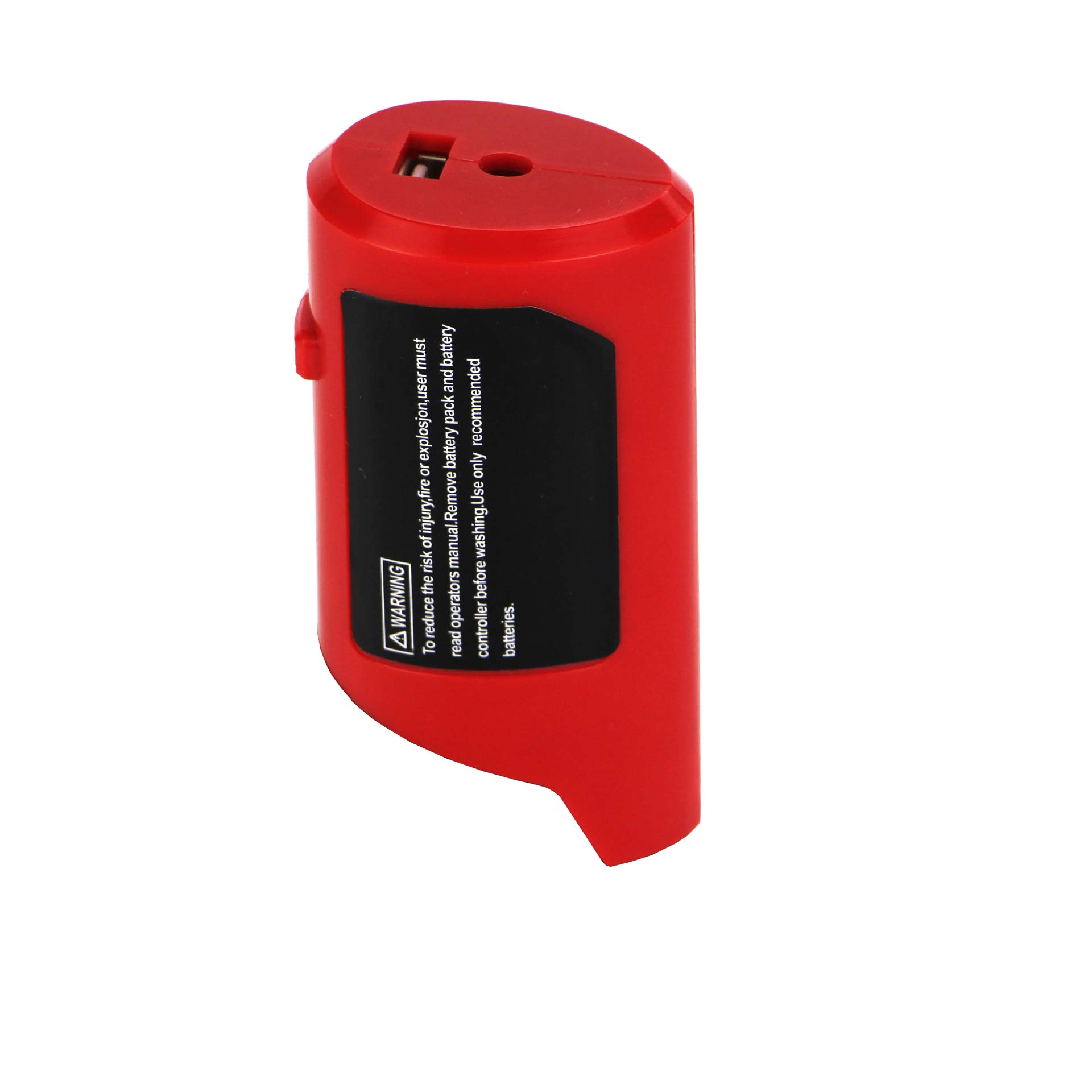 Replace for M12 Power Source Adapter With DC 12V Outlet Charge for Milwaukee Heated Jacket 49-24-2310 48-59-1201 Compatible with M12 Lithium Battery 48-11-2420 48-11-2411 48-11-2401 48-11-2402