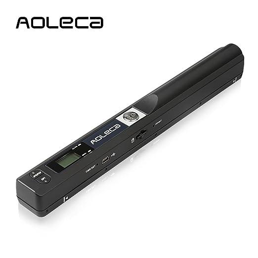 26 opinioni per AOLECA Scanner Portatile 900DPI per Documenti A4, Foto, Scontrini, Libri,
