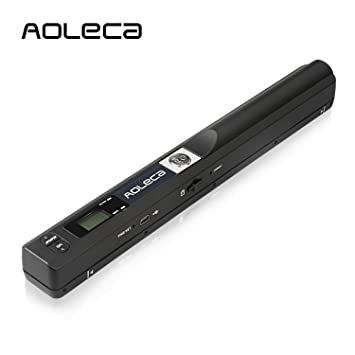 Portable scanner aoleca 900dpi handheld mobile document portable portable scanner aoleca 900dpi handheld mobile document portable scanner business card hand scanner and color reheart Image collections