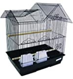 YML 3/8 in. Bar Spacing Villa Top Bird Cage