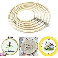 St. Lun Wooden Cross Stitch Machine Embroidery Hoop 13cm - 30cm