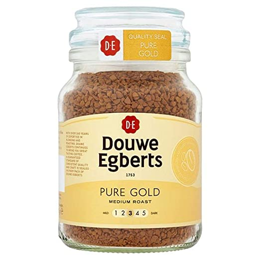 Douwe Egberts Pure Gold Instant Coffee 95 G Amazon In Grocery Gourmet Foods