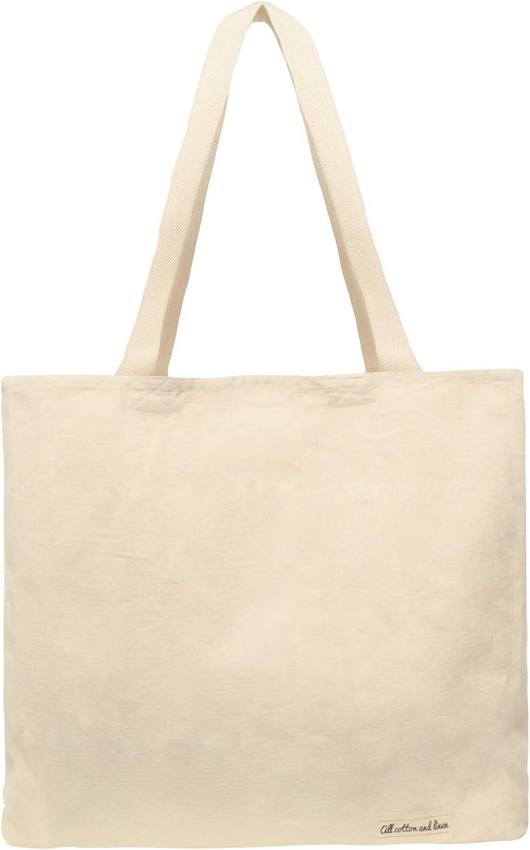 Conjunto de 3 – 100% orgánico algodón Natural bolsa de lona bolsas ...
