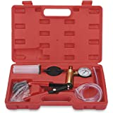 VETOMILE Hand Held Vacuum Pump Tester Set and Brake Bleeder Kit Car Motorbike Bleeding Kit