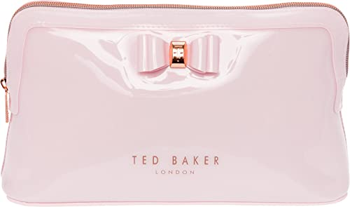 5c53234d0 Ted Baker Dusky Pink Bow Triangle Wash Bag  Amazon.co.uk  Shoes   Bags
