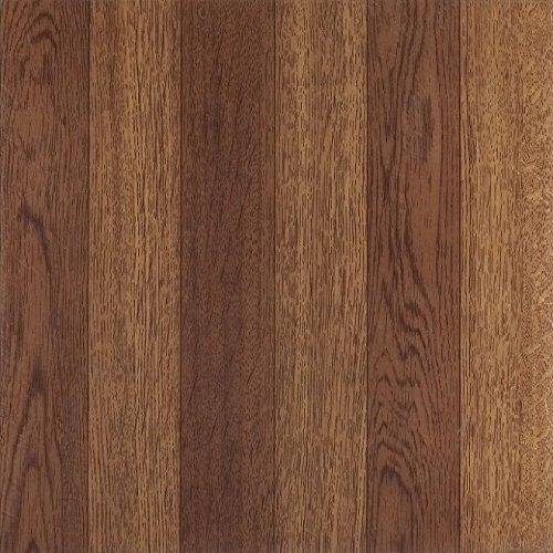Achim Home Furnishings FTVWD22320 Nexus 12-Inch Vinyl Tile, Wood Medium Oak Plank-Look, ()
