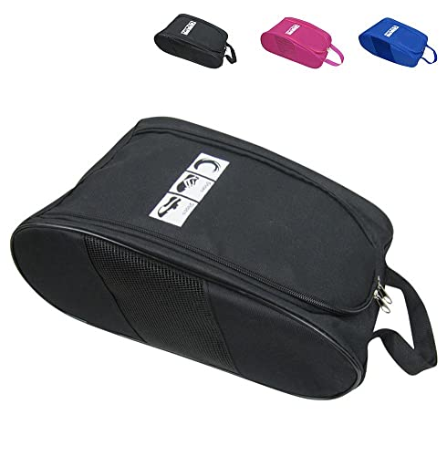 e515cdd68a Amazon.com: Portable Oxford Travel Shoe Tote Bag, Waterproof Shoe Packing  Storage Gym Organizer: Shoes