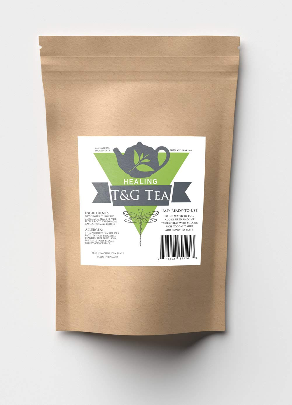 Amazon.com : T&G Healing Tea Joint Pain and Inflammation Relief : Grocery & Gourmet Food