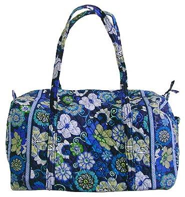 f2c1e1e04914 Vera Bradley Large Duffel Bag in Mod Floral Blue  Amazon.co.uk  Shoes   Bags