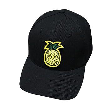 Gorra de Béisbol Ocasional, SUNNSEAN, Unisex Piña Plátano de la ...