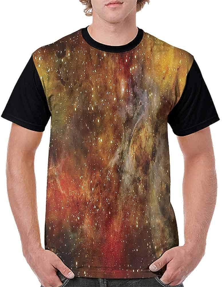 BlountDecor Trend t-Shirt,Astro Galaxy Universe Fashion Personality Customization