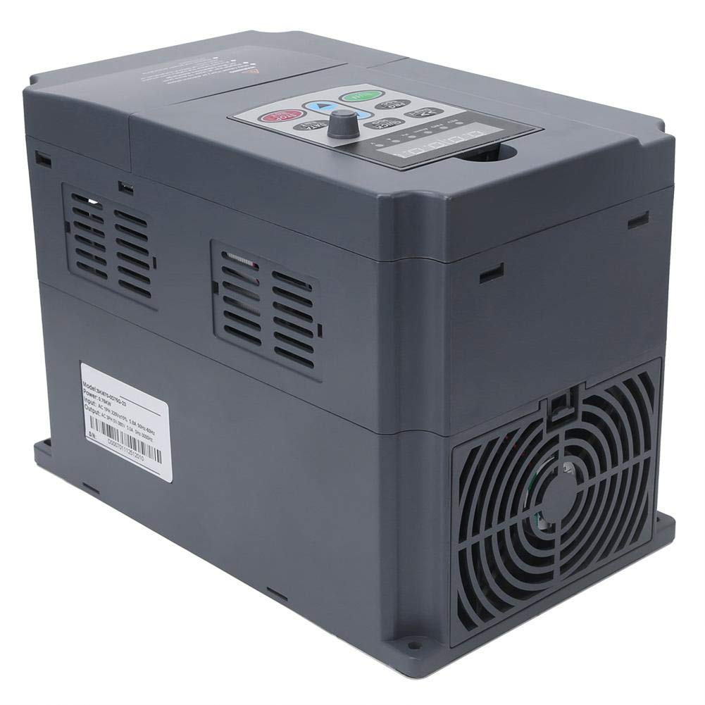 Variable Frequency Inverter Single Phase 220VAC Input 3-Phase 0-380VAC Output 0.75KW 0Hz-3000Hz Really Good Quality Products,Not A Pile of Garbage