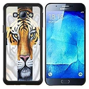 Dragon Case - FOR Samsung Galaxy A8 A8000 - How are you today - Caja protectora de pl??stico duro de la cubierta Dise?¡Ào Slim Fit