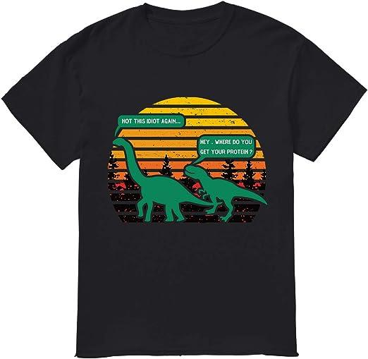 Oye, ¿Dónde obtienes tu camiseta de proteína: Amazon.es: Ropa ...