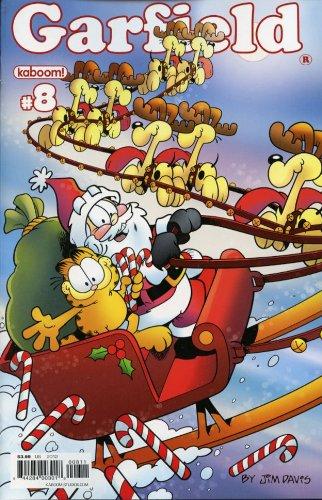 Garfield #8 Comic Book Christmas Issue Kaboom - Boom